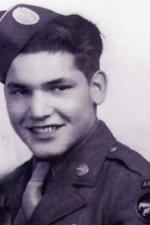 Pvt Myron G Washburn - Bronze Star Recipient - Regiment or Battalion Unknown