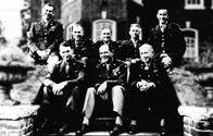 82nd Airborne General Staff circa Spring 1944 in England