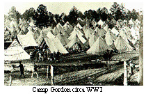 Camp Gordon GA circa 1917