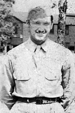 Pfc William R (Billy) Walker - 194th GIR Company B parachute qualified (Source: Joe Conway)