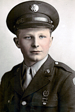 Pfc George J Fruhman - Bronze Star Recipient (Source: Todd Olsen)