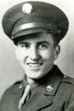 Pvt Warren C Shook - Bronze Star Recipient (Courtesy: Charles A Austin)
